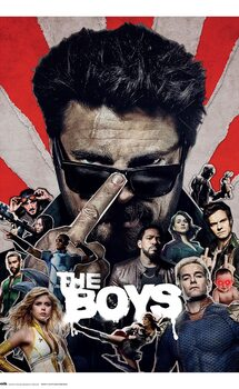 The Boys - Season 2 плакат