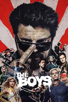 The Boys - Sunburst плакат