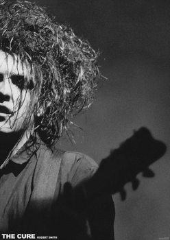The Cure - Robert Smith плакат