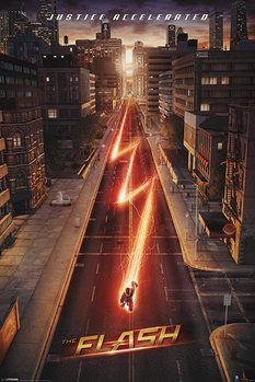 The Flash - Lightning плакат