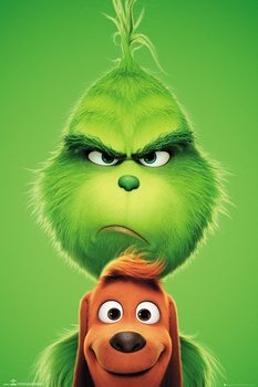 The Grinch - Grinch and Max плакат