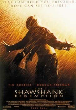 THE SHAWSHANK REDEMPTION плакат
