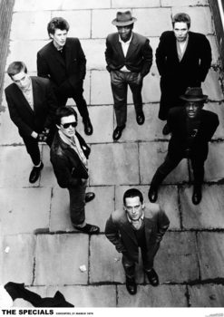 The Specials - Lookin' Up 1979 плакат