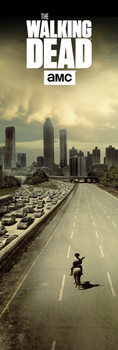 The Walking Dead - City плакат