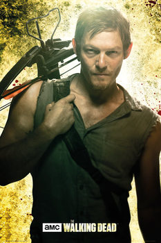 THE WALKING DEAD - daryl - плакат