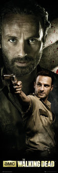 THE WALKING DEAD - rick плакат