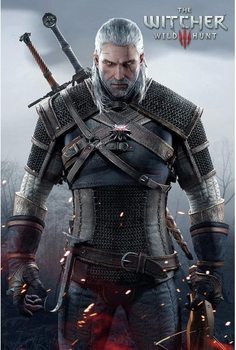 The Witcher 3 - Wild Hunt плакат