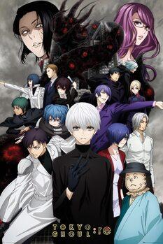 Tokyo Ghoul: RE - Key Art 3 плакат