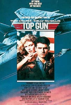 TOP GUN плакат