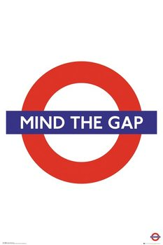 Transport For London - Mind The Gap плакат