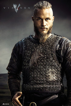 Vikings - Ragnar Lothbrok плакат
