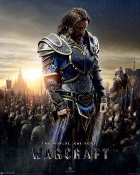 Warcraft - Lothar плакат