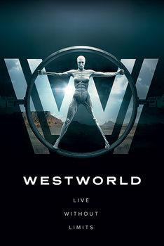 Westworld - Live Without Limits плакат