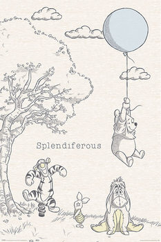 Winnie the Pooh - Splendiferous плакат
