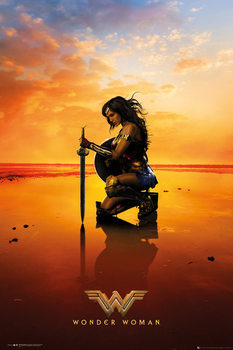 Wonder Woman - Kneel плакат