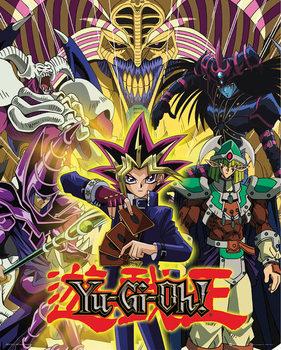 Yu Gi Oh! - Yugi and Monsters плакат