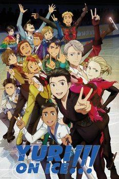 Yuri On Ice - Characters плакат