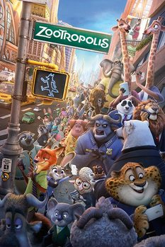 Zootopia - One Sheet плакат