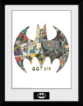 Batman - Comic Symbol Рамкиран плакат
