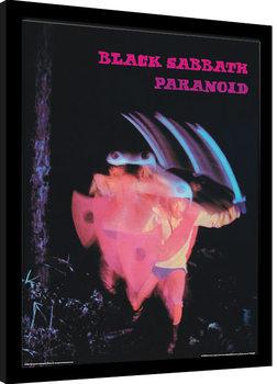 Black Sabbath - Paranoid Рамкиран плакат