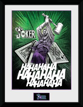 DC Comics - Joker Cards Рамкиран плакат