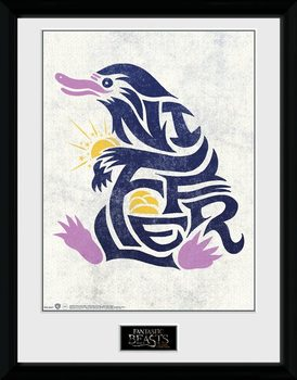 Fantastic Beasts - Niffler Graphic Symbol Рамкиран плакат