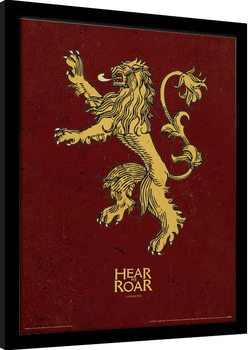 Game Of Thrones - Lannister Рамкиран плакат