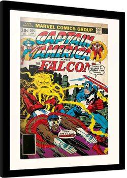 Рамкиран плакат Marvel - Captain America