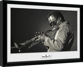 Miles Davis - Portrait Рамкиран плакат
