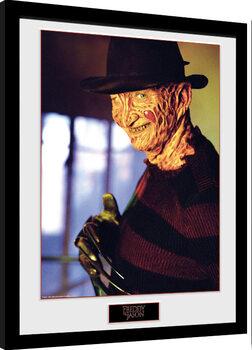 Рамкиран плакат Nightmare On Elm Street - Freddy