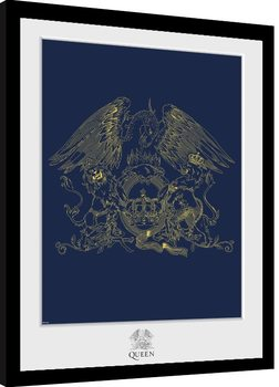 Queen - Crest Рамкиран плакат
