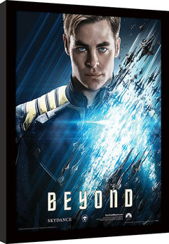 Star Trek Beyond - Kirk Рамкиран плакат