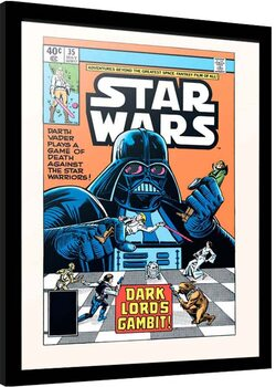 Рамкиран плакат Star Wars - Dark Lord's Gambit