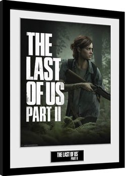 Рамкиран плакат The Last Of Us Part 2 - Key Art