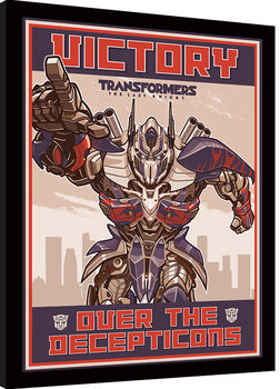 Transformers The Last Knight - Victory Рамкиран плакат