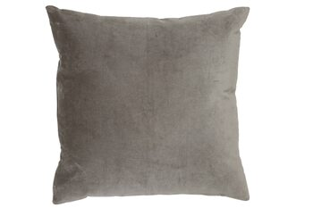 Подушка Cushion Khios -  Velvet Silver Grey