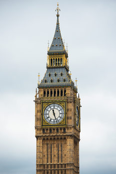 художествена фотография Big Ben Clock Tower