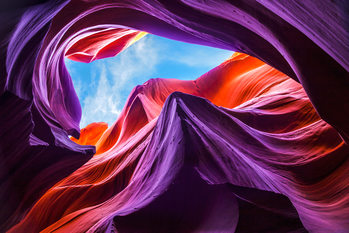 художествена фотография Magical Lower Antelope Canyon