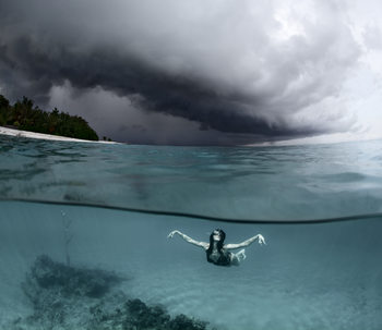 художествена фотография On the wings of the storm