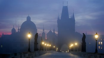 художествена фотография Prague is awakening