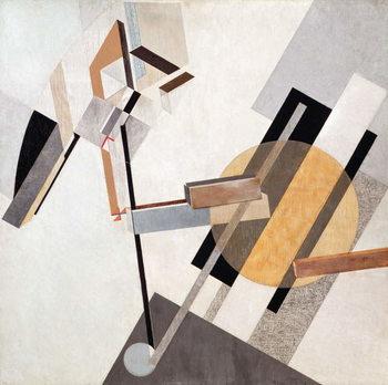 Proun-19-D, 1920 Художествено Изкуство