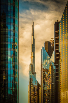"художествена фотография The Mighty ""Burj"""