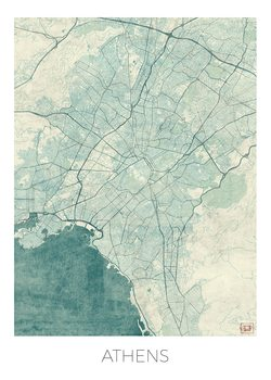 Карта на Athens
