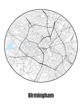 Карта на Birmingham