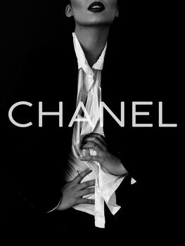 илюстрация Chanel model