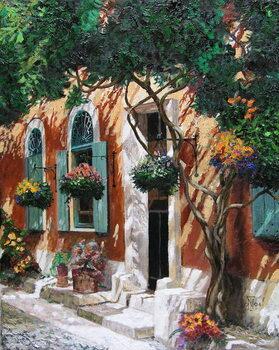 Doors and windows, Pietrasanta, Tuscany, 2000 Художествено Изкуство