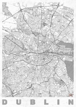 Карта на Dublin