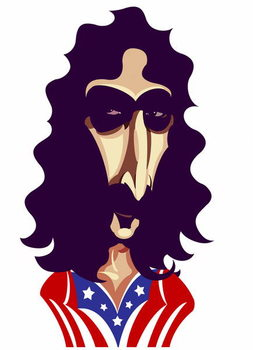 Frank Zappa, by Neale Osborne Художествено Изкуство