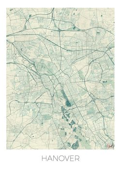 Карта на Hanover