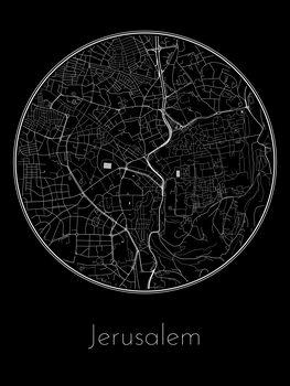 Карта на Jerusalem